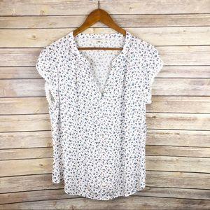 Stitch Fix Fun2Fun Zahari Floral Print Top Size XL